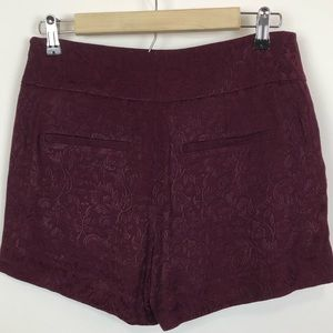 LOFT Shorts - LOFT TEXTURED PAISLEY DRESS SKORT 00